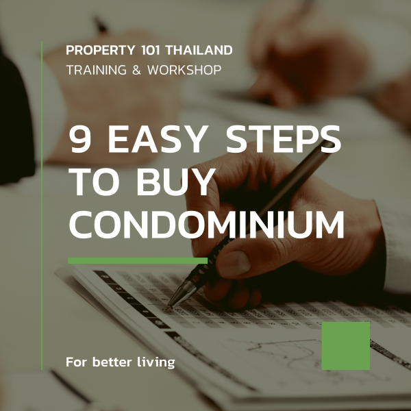 9 EASY STEPS TO BUY CONDOMINIUM