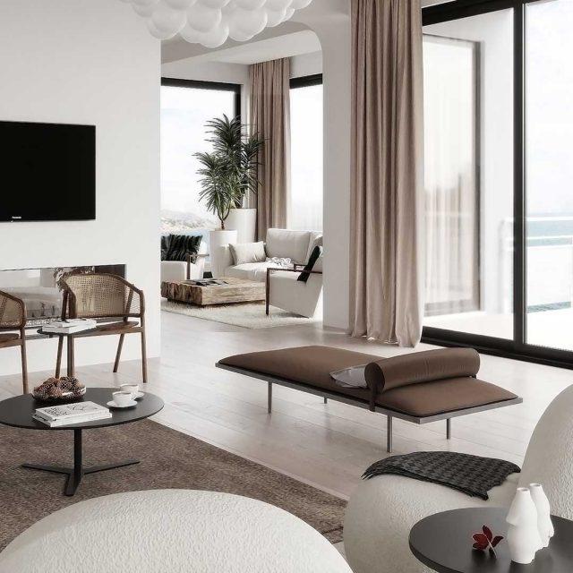minimal living room